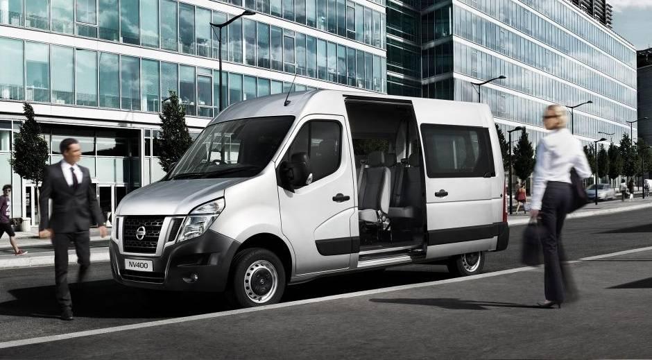 Nissan NV400 Combi 9 Seat Minibus Sales - Discounts