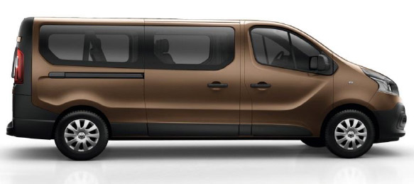 Renault Trafic LL29 9 Seat Business in metallic Copper Brown