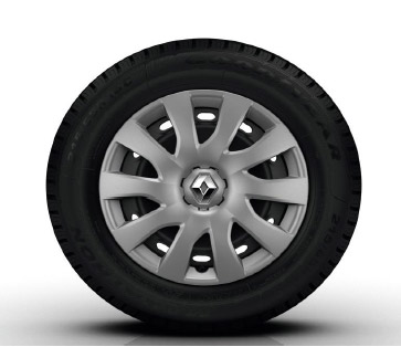 LL29 Business 16 inch steel wheels with trims