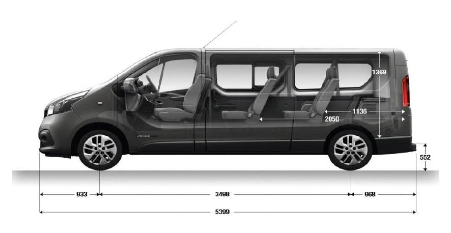 Renault Trafic LL29 LWB 9 Seat Minibus Sales | Discounts ...