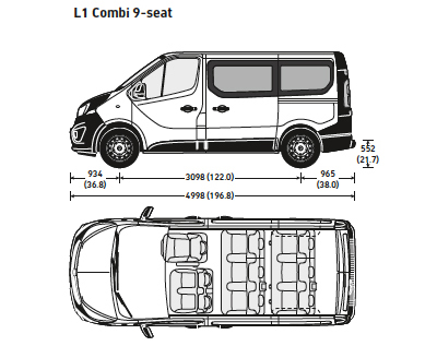 vauxhall vivaro swb 9 seat combi sales leasing discounts. Black Bedroom Furniture Sets. Home Design Ideas
