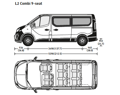 vauxhall vivaro 9 seat combi minibus sales leasing big discounts. Black Bedroom Furniture Sets. Home Design Ideas